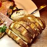 大衆食堂 瓦町ブラン - 大好き貝柱のムースとパンデュースさんのバゲット♡