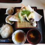 さがのや - 天ぷら定食