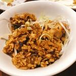 WANG'S GARDEN - 焦がし葱炒飯
