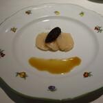 サロンドグー - 泳ぐ帆立貝のカルパッチョ