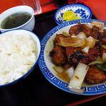 小笹飯店 - とりみそ定食 1
