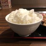 安楽亭 - ご飯大盛り