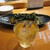 魚虎 - ドリンク写真:魔王の梅酒 550円、山芋とネギのバター焼 780円