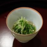 京懐石 八泉 - 貝割れ菜