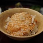 京懐石 八泉 - ご飯