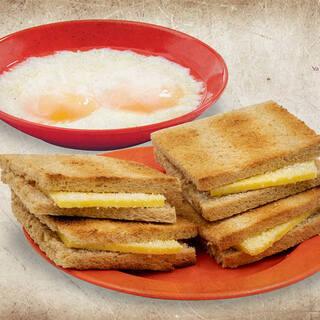 シンガポールの朝の定番☆カヤトースト