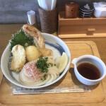 讃岐うどん 志成 - しなりぶっかけ、麺少なめ770円!