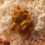 ベアフット カリー - キーマカレー ( ´θ`) ミンチのコクと辛味