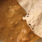 ベアフット カリー - パパドを ( ´θ`) 豆せんべい