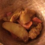 ベアフット カリー - 野菜炒め煮 ( ´θ`) カレーの リセットにイイ
