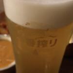 ベアフット カリー - ビール ( ´θ`) これなら瓶ビールおいて欲しい