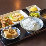 キッチンカフェ ほっぷ - ランチ(例)¥660