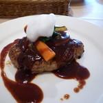 レストランHIRO - ハンバーグステーキ