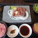 石焼ステーキ 贅  - レディースランチ100g