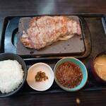 石焼ステーキ 贅  - サーロインステーキ300gセット