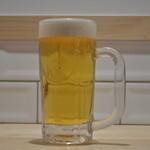 キッチンカフェ ほっぷ - 生ビール  ¥480