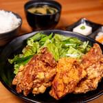 小樽ザンギ定食(3ケ)