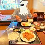 とんかつ・串揚げ 冨岳 - 2020年7月 友人とカツ