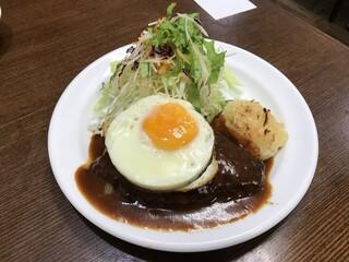 洋食の朝日 - ハンバーグ (1000円)