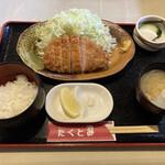 とんかつ&ハンバーグ たくとみ - 料理写真: