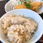 鞠屋 - 玄米ごはん