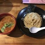 つけ麺 雀 - 辛つけ麺(900円)