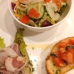 ギオットーネ - 料理写真:前菜三点盛り