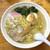 千葉家 - 料理写真:白しょう油ラーメン(700円)