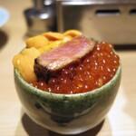 yakiuoishikawa - 極上のスペシャルどんぶり、その名は三色丼。