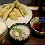 132791479 - 地魚天ぷら定食