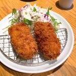 新橋魚金 高田馬場店 - カニクリームコロッケ
