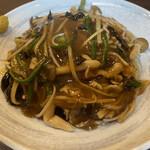 中国菜 橙 - 黒酢のあんかけ焼きそば 940円