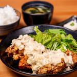 (濃厚)タルタルザンギ定食