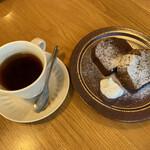 Purantsukafekoharubiyori - パウンドケーキ食べたい❗️ パウンドケーキ食べたい❗️