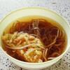 まんぷく - 料理写真:天ぷらそば200円w