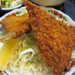 kabutochoumaruya - アジフライ。