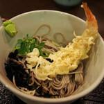 そば処 善作家 - そぼろ丼定食(冷)