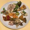osteria  della  Capanna - 料理写真:シェフの気まぐれ前菜盛り合わせ