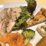 オステリア デッラ カパンナ - シェフの気まぐれ前菜盛り合わせ
