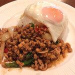 132806470 - Time to eat(ガパオライス)