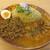 JSPICE - 料理写真:ココナッツチキンカレーとキーマカレーのあいがけ