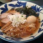 神田 磯野 - 醤油らーめん+名古屋コーチン味たま