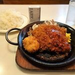 Kicchinkarori - カツジャンボ鉄板焼(特盛)990円