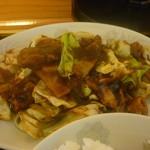 生香楼 - 回鍋肉アップ