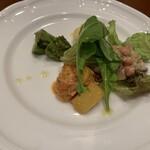 ピッツェリア・ギタロー - シェフおまかせ前菜の4種盛
