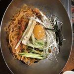 炭火焼肉ぎゅうぎゅう - ビビン麺