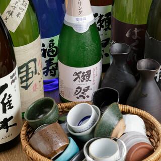 地酒多数あり!プレミア地酒もびっくり499円!獺祭も!