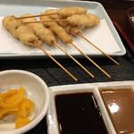 串かつ料理 活 - トンロース定食