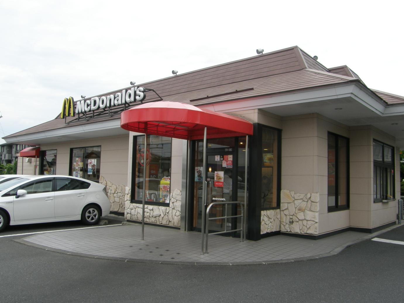 マクドナルド 下麻生店