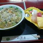 川崎屋 - ビーフンセット 800円